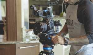 Photo of Man Producing a Business Video